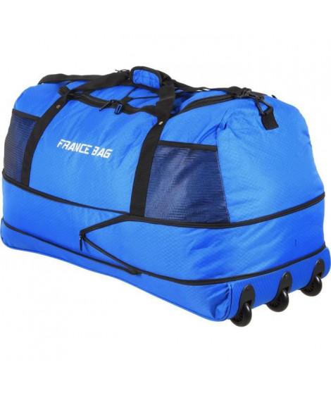 FRANCE BAG Sac de Voyage Pliable XXL Polyester 81cm Bleu