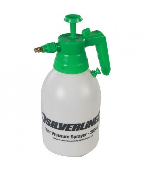 SILVERLINE Pulvérisateur 2 L a pression préalable
