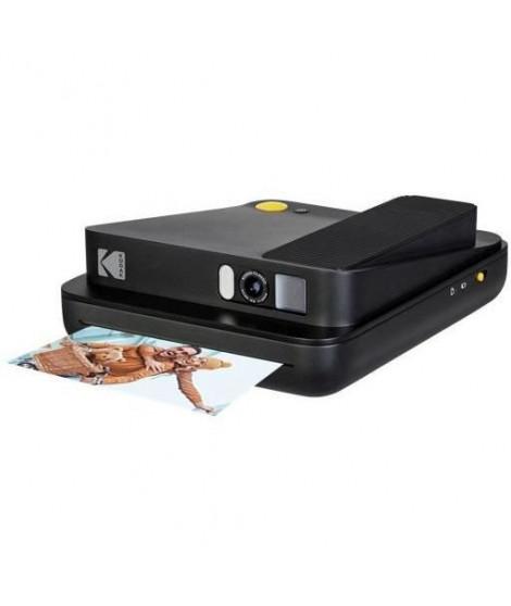KODAK SMILE Classic Caméra & Imprimante - Appareil photo numérique instantané - Impression thermique - 16 MPx - Noir