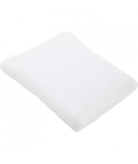 DOMIVA Housse matelas a langer - 200 gm² - 50 x 75 cm - Blanc