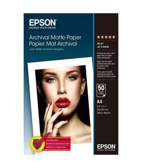 EPSON Papier d'impression - 192g/m2 - A4 - 50 feuilles