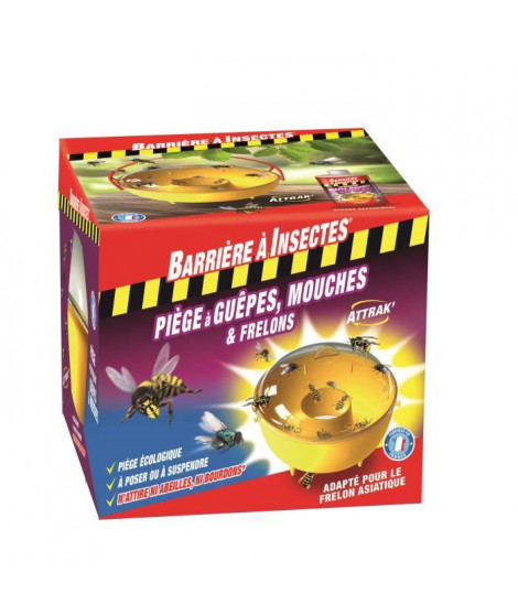 BARRIeRE a INSECTE Piege a guepes frelons mouches moucherons x1