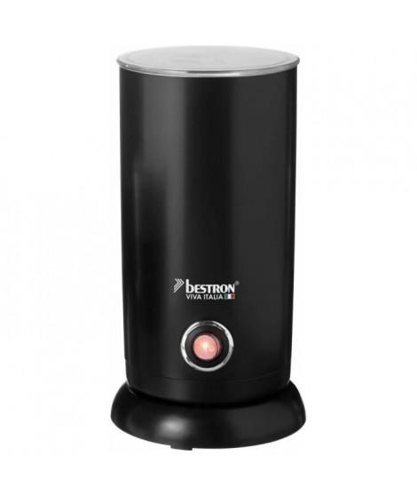BESTRON AMF8050 Mousseur a Lait électrique sans fil - Viva Italia - 550 W - 300 ml - Noir