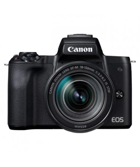 CANON2680C042 - Appareil Photo Hybride Canon EOS M50 noir + Objectif EF-M18-150 STM