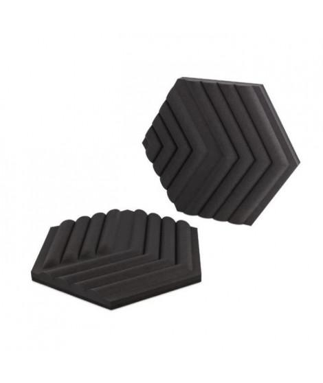 ELGATO Mousse acoustique, 6 panneaux de traitement acoustique - Noir (10AAJ9901)