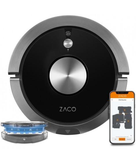 ZACO A9SPRO 501905 - Robot aspirateur laveur connecté - Jusqu'a 110 minutes - 68 dB - Fonction auto-résumé