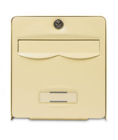 BURG WACHTER Boîte aux lettres Balthazar en acier galvanisé - 2 portes - Beige