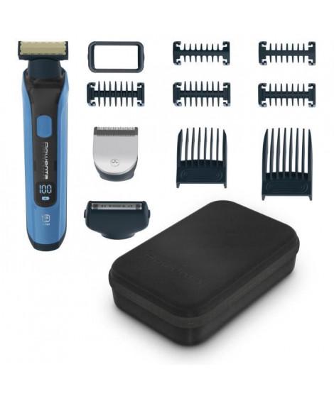 ROWENTA TN6200F4 Forever Sharp Ultimate, Tondeuse barbe, Polyvalente, Lames acier inoxydable, Etanche, Autonomie 120 min