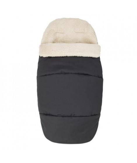 MAXI-COSI Chanceliere 2 en 1 pour poussette - Tissu polaire - Essential Black
