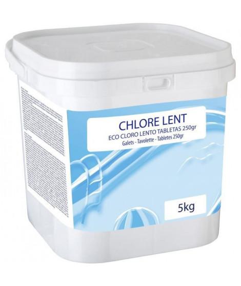 GRE - Chlore lent 5Kg - Galets 250grs