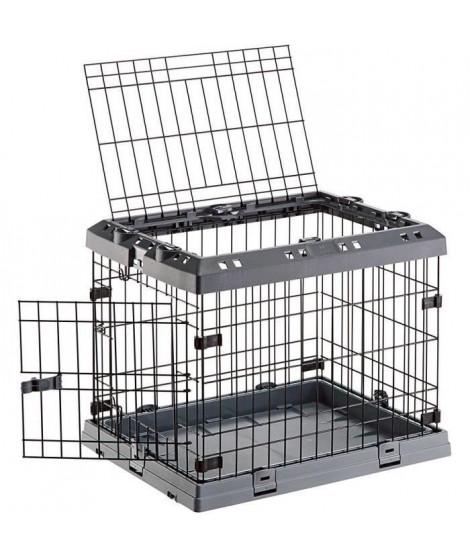 FERPLAST Box de transport Superior 90 62x58x92 cm  - Noir