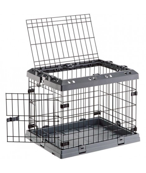 FERPLAST Box de transport Superior 60 50x47x62 cm  - Noir