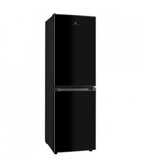 CONTINENTAL EDISON Réfrigérateur combiné 193L(129L + 64L), Total No Frost 4*, Noir