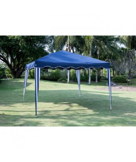 BEAU RIVAGE Tonnelle de jardin Cebu - 3x3m - Bleu