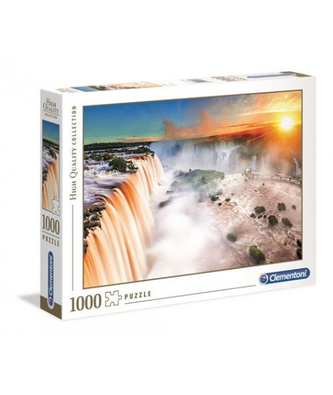 Puzzle 1000 pièces Clementoni High Quality Waterfall