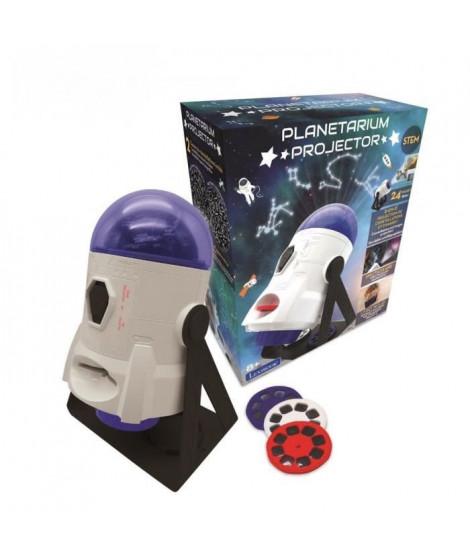 Projecteur Planetarium 360° - 24 projections, carte constellations et livret pédagogique