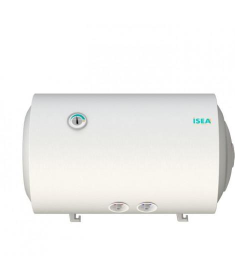ISEA Swing Chauffe-eau électrique 50 litres - Résistance cuivre thermo-plongée- Anode magnésium - Horizontal