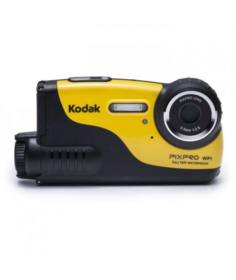 KODAK Pixpro WP1 - Appareil photo compact - Caméra Sport -  16Megapixels, 5m waterproof, 1.2m shockproof, écran de 2.7' - Jaune