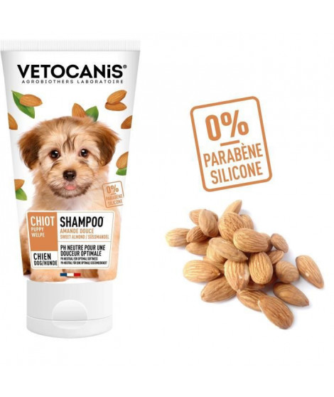 VETOCANIS Shampoing essentiel - Pour chiot