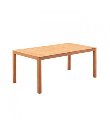 Table de jardin 6 personnes - 160 x 90 x H.74 cm - Acacia FSC