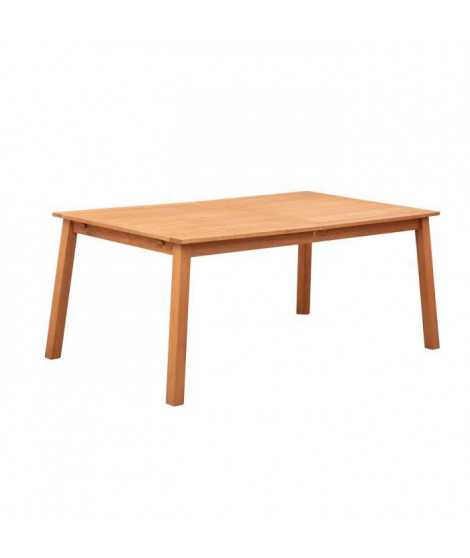 Table de jardin 8 personnes - 180 x 90 x H.74 cm - Acacia FSC