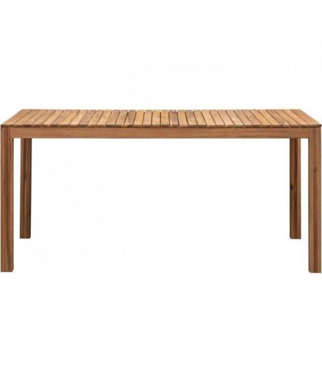 Ensemble repas de jardin 8-10 personnes - Eucalyptus FSC - Table extensible  180 - 240 x 80 cm + 8 chaises pliantes