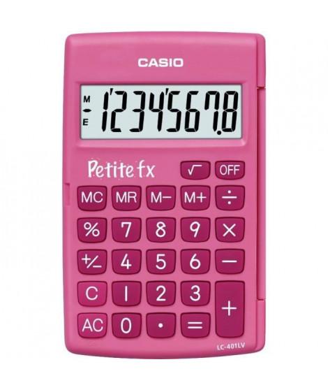 CASIO Petite FX Rose. Calculatrice adapté au primaire LC-401LV-PK
