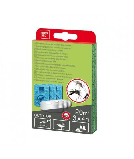 SWISSINNO SOLUTION Set de Recharge Stop Moustiques pour lanterne - 500 ml