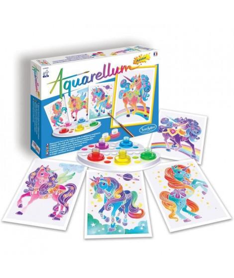 SENTOSPHERE Jeu Aquarellum Junior Licornes - Pour Enfant