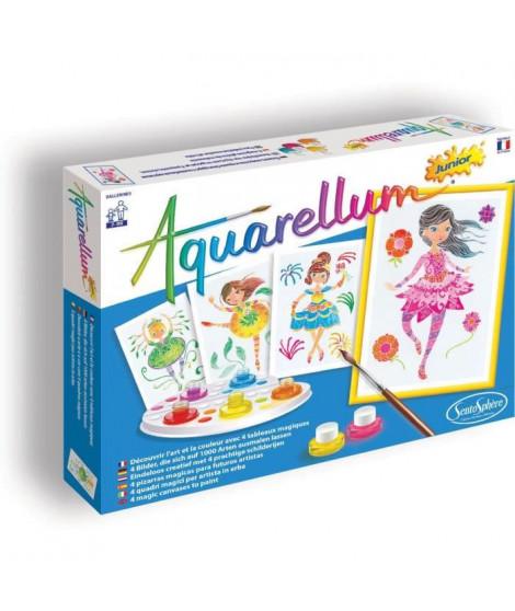 SENTOSPHERE Jeu Aquarellum Junior Ballerines - Pour Enfant