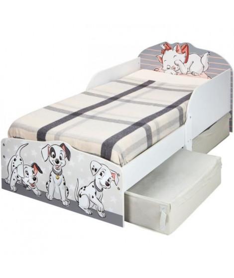 Disney Classics - Lit pour enfants avec espace de rangement sous le lit