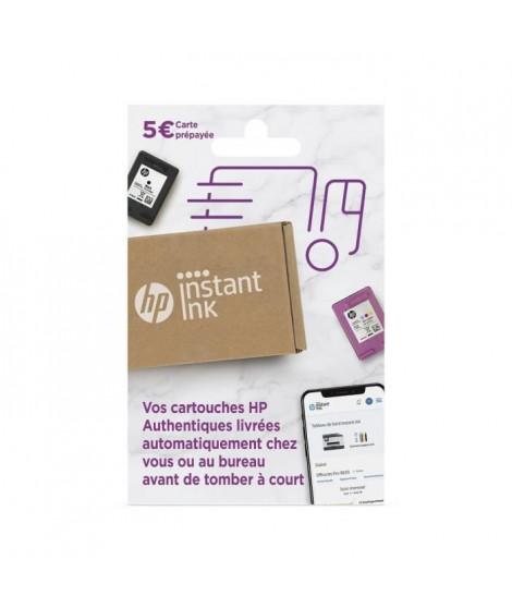 HP Carte prépayée Instant Ink - Forfait d'impression cartouches et toners sans engagement