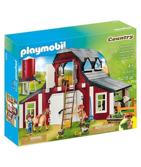 PLAYMOBIL - 9315 - Ferme avec silo