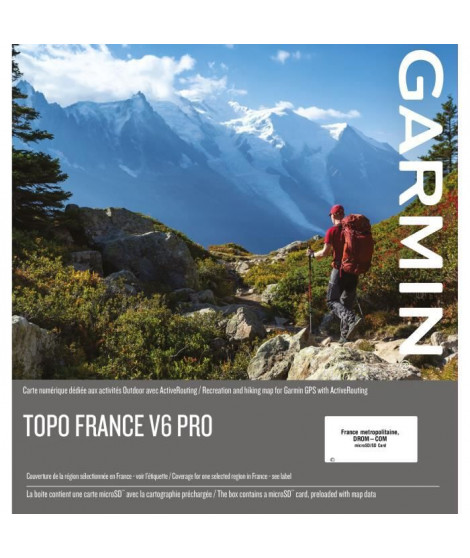 GARMIN - TOPO France v6 PRO - Sud Est
