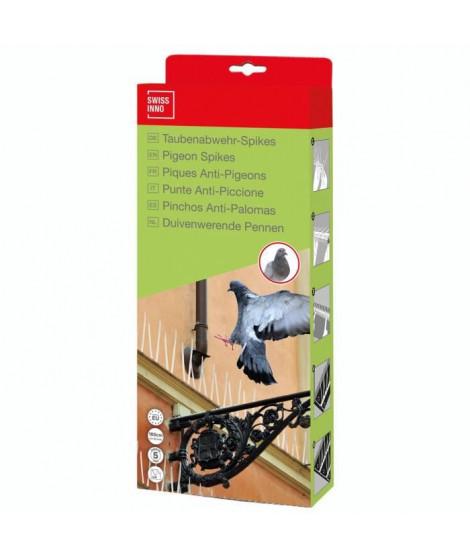 SWISSINNO SOLUTION Répulsif a Pigeons - Carton de Spikes - 100 cm