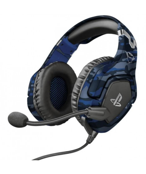 Casque-Micro Gaming - TRUST - Forze - Bleu - PS4