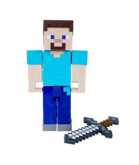MINECRAFT Figurine Steve 8cm