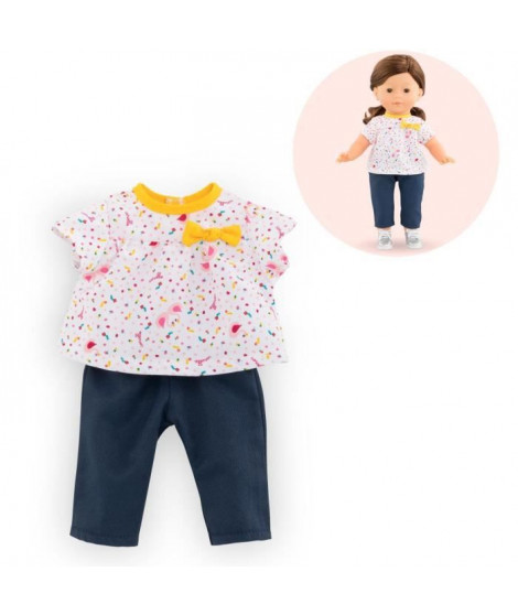 Corolle - Blouse & pantalon Cygnes de Tendresse pour poupée ma Corolle
