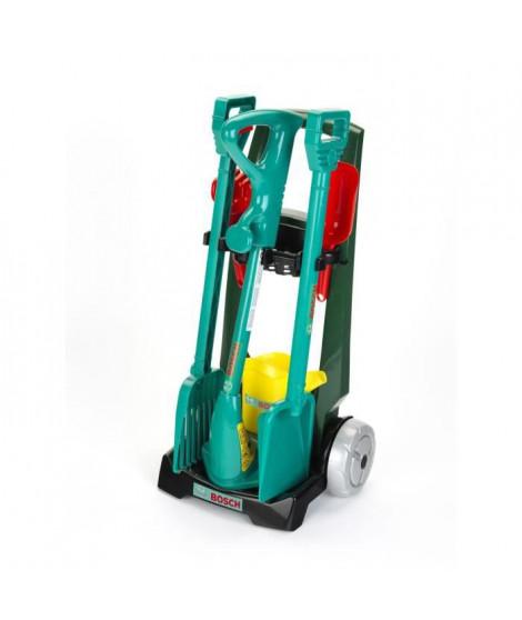 Klein - 2751 - Chariot de jardinage Bosch avec accessoires