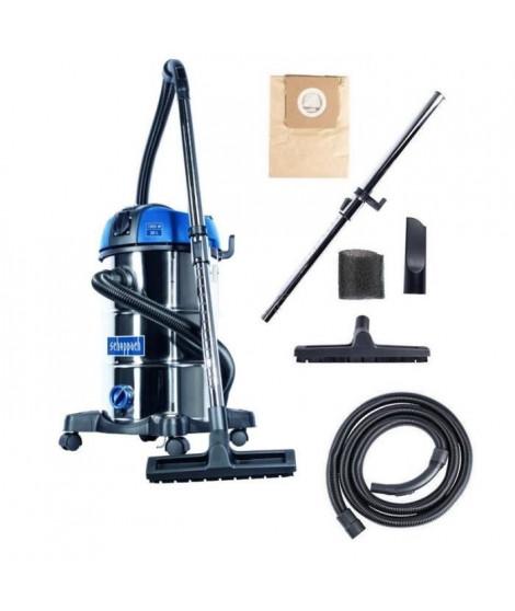 Aspirateur eau et poussiere SCHEPPACH 30L - 1300W - NTS30 Premium