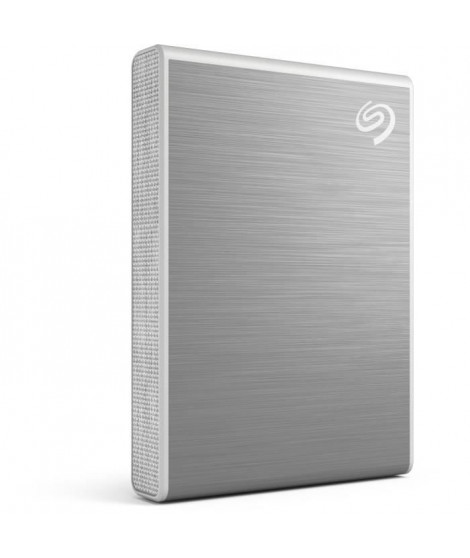 SEAGATE - SSD Externe - One Touch - 500Go - NVMe - USB-C - Gris (STKG500401)
