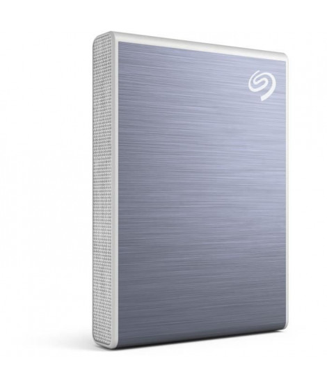 SEAGATE - SSD Externe - One Touch - 500Go - NVMe - USB-C - Bleu (STKG500402)