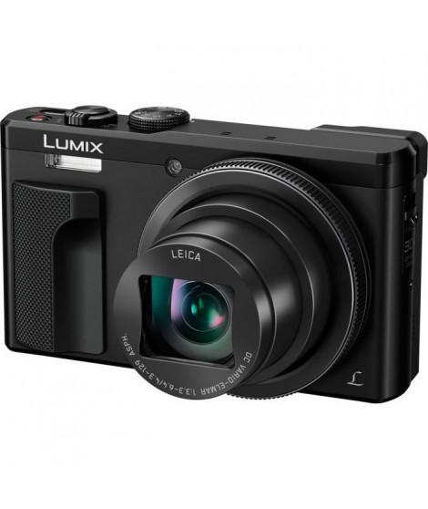 PANASONIC DMC-TZ80EF-K - Appareil photo numérique de voyage compact - Zoom 30x - Technologie 4K - Noir