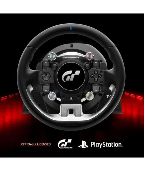 Thrustmaster T-GT II, volant sous licence officielle PlayStation 5 et Gran Turismo, avec un pédalier 3 pédales (compatible PS…