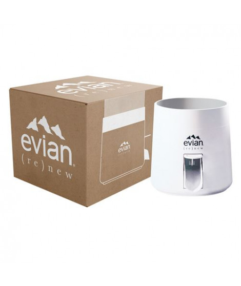 Fontaine evian® (re)new 5L Blanc