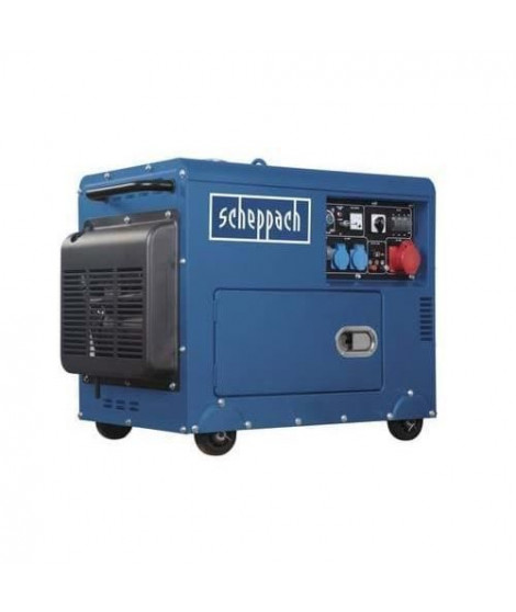 Groupe électrogene diesel SCHEPPACH 16L - 5000 W - 7,7 PS - SG5200D