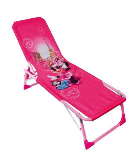 Fun House Disney Minnie bain de soleil - transat pour enfant