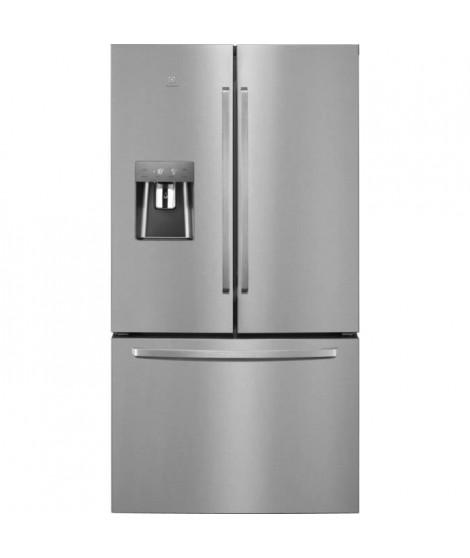 ELECTROLUX EN6086JOX - Réfrigérateur américain multiportes - 577L (415+162L) - Total No frost - L91 x H178 cm - Inox