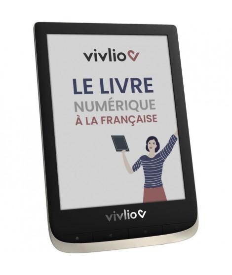 Liseuse Tactile - VIVLIO - Couleur - 6 E Ink - RAM 1 Go - Stockage 16 Go - Linux 3.10.65 - Noir et Blanc