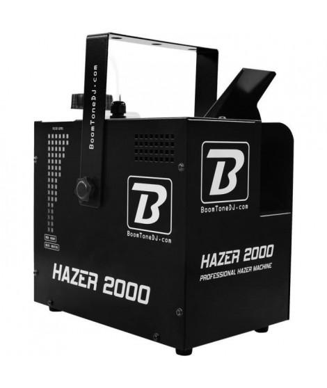 BOOMTONEDJ HAZER 2000 - Machine a Brouillard professionnelle a débit constant - Permet la mise en valeur de faisceaux de proj…